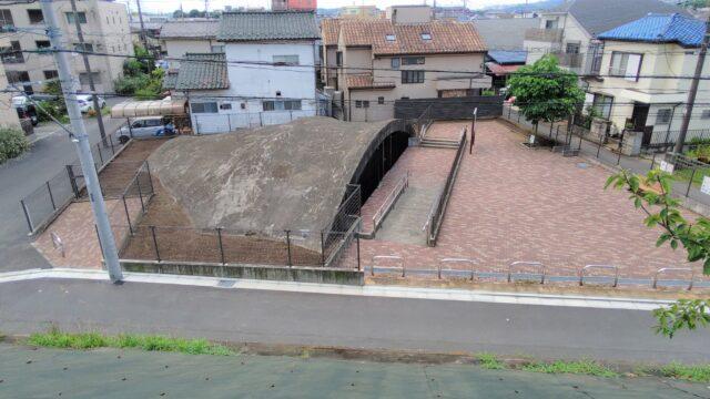 旧陸軍調布飛行場白糸台掩体壕